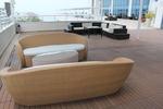 Екзотични маси и столове ратан за кафене