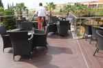 Маси и столове от тъмен ратан в различни цветове и плетки