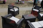 Луксозни маси и столове от ратан за море