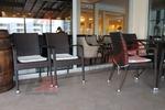 Модерни маси и столове от ратан антрацит