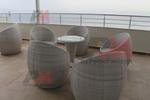 Промоция на маси и столове от ратан слонова кост