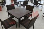 Промоция на маси и столове от ратан антрацит