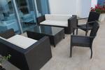 Ниски цени на маси и столове от тъмен ратан