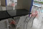 Маси и столове, произведени от бял ратан