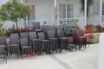 Скъпи маси и столове от ратан за интериор