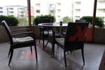 Универсални маси от ратан за ресторанти за всесезонно използване
