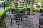 Столове от ратан за ресторанти в различни цветове и плетки