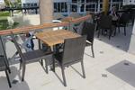 Удобни маси и столове от евтин ратан