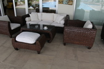 Ратанови мебели от ратан за хотел