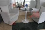 Маси и столове от бял ратан
