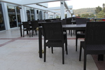 Луксозни маси и столове ратан за кафенета