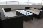 Уникални маси и столове ратан за кафене