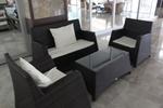 Маси и столове от тъмен ратан за всяка обстановка