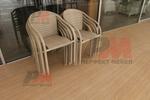 Маси и столове ратан бежови