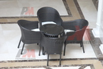 Лукс столове от ратан за заведения