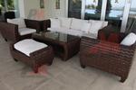 Промоция на маси и столове от ратан за басейн