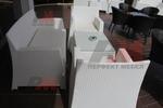 Елегантни маси и столове ратан за заведение