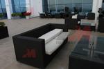 Евтини маси и столове от черен ратан