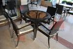 Ниски цени на маси и столове от ратан за хотел