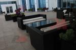Промоция на маси и столове от черен ратан