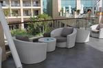 Маси и столове от ратан за лятни заведения в различни цветове и плетки