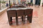 Мебели бар столове от ратан за заведения