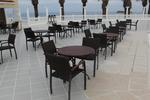 Маси и столове, произведени от ратан за хотел
