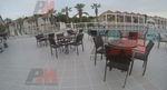 Красиви маси и столове от ратан за хотел