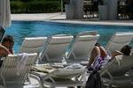 Дизайнерски шезлонги за басейн