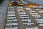 Шезлонги за малък плаж