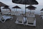 Вносни шезлонги за голям плаж