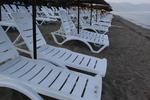 Много модели шезлонги за голям плаж с текстилен