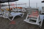 Шезлонг за малък плаж