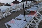 Много шезлонги,произведени за плаж и басейн