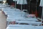 Шезлонги,произведени пластмасови за плаж и басейн