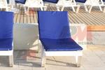 Шезлонг,произведен от качествени материали за плаж и басейн