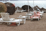 Шезлонги за използване на плажа