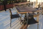 Стилни маси и столове от ратан за интериор