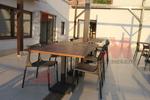 Промоция на маси и столове ратан за кафене