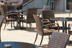 Ниски цени на маси и столове от ратан за басейн