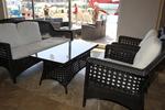 Топ качество на маси и столове ратан за заведение