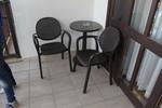 Пластмасови столове за лятно заведение, за открито