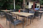 Качествени маси и столове от изкуствен ратан