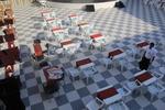 Устойчиви пластмасови столове за градина