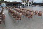 Столове от пластмаса за хотел, за външно ползване
