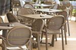 Външни пластмасови столове за заведение