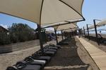 Шезлонги за малък плаж за използване на плажа