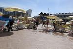 Пластмасови шезлонги за използване на плажа