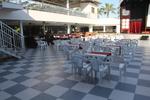 Пластмасови бели столове, за заведения