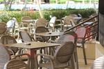 Пластмасов стол за басейн, за външно ползване